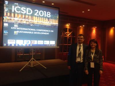 Prof. Phoebe Koundouri was the keynote speaker at ICSD 2018, April 11-15, 2018, Athens, Greece