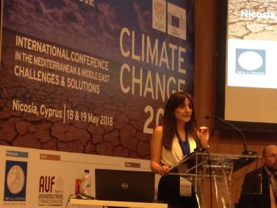 "Prof. Phoebe Koundouri and Prof. Jeffrey Sachs participated at the International Conference ""Climate Change in the Mediterranean and the Middle East: Challenges and Solutions"""