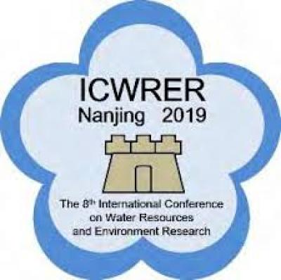 Τhe 8th International Conference on Water Resources and Environment Research, 14-18 June 2019, Hohai University, Nanjing, China
