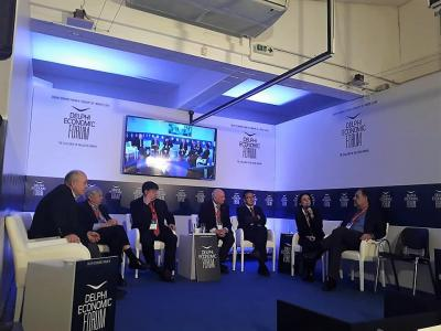 Participation at the Delphi Economic Forum IV