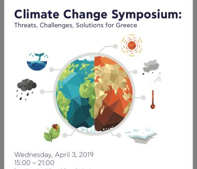UN SDSN Greece co organises the Climate Change Symposium