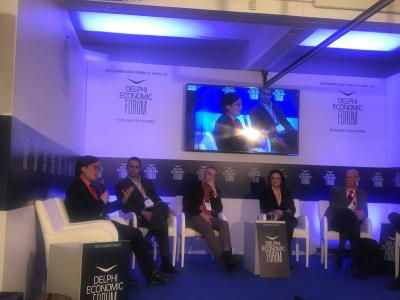 Delphi Economic Forum: Innovating for Climate Resilience, Delphi, Greece