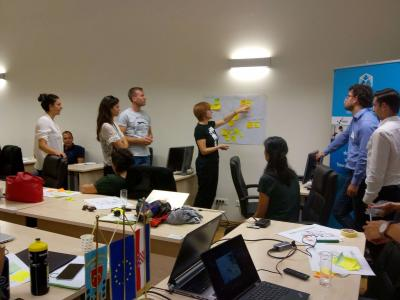 Climate-KIC Ideation workshop on plastic waste management – Marine plastic litter held in Sibenik, Croatia