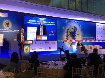 Third Sustainability Summit by UN SDSN and the Economist, Athens, Greece