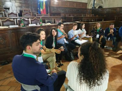 Towards COP 21: Youth Event, Naples, Italy