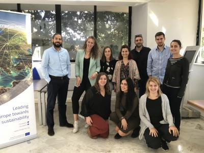 EIT Climate-KIC Pioneers into Practice Final Workshop, Athens, Greece