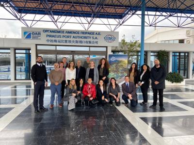 DEEP DEMONSTRATION MARITIME HUBS INTENT WORKSHOP PORT OF PIRAEUS