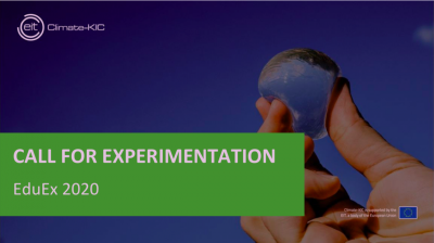 CALL FOR EXPERIMENTATION - EDUEX 2020
