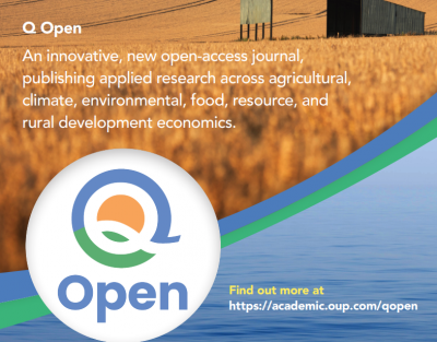 Prof. Phoebe Koundouri is an editor at the new Journal Q Open