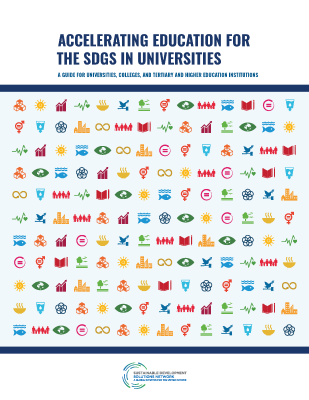 New SDSN Guide: Accelerating Education for the SDGs in Universities