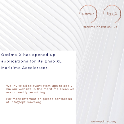 Applications - Enso XL MaritimeTech Accelerator by Optima-X
