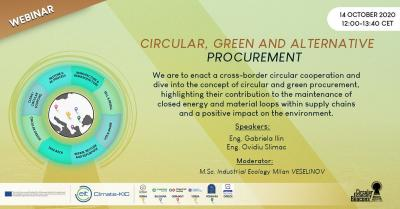 "CE BEACONS Webinar ""Circular, green, and alternative procurement"""