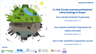 CL-HUB project: Circular Economy Trainings