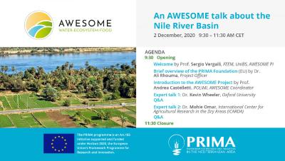 Online Seminar | An AWESOME talk about the Nile River Basin