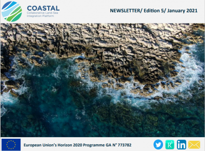 The 5th COASTAL Newsletter is out-  H2020 COASTAL project