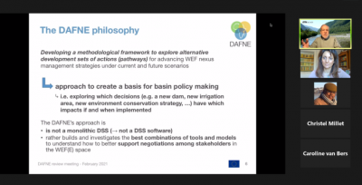 DAFNE H2020 project final review and presentation