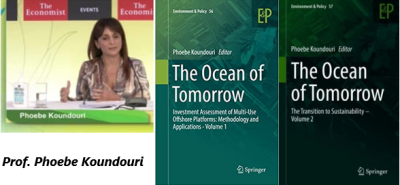 "An exciting new book, edited by Prof. Phoebe Koundouri, ""The Ocean of Tomorrow: The Transition to Sustainability -Volume II"""