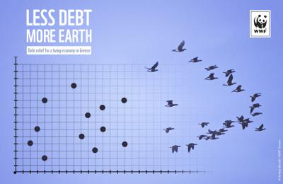 Less debt more Earth; WWF opens dialogue on green debt relief for a living economy in Greece