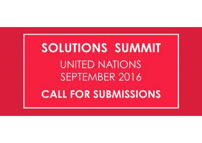 Solutions Summit Call for Submissions